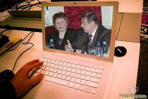 """Джазовий фестиваль """"Єдність"""", під час прес-конференції з продюсером Сергієм Грабарем. Фото Ігоря Снісаренка"""